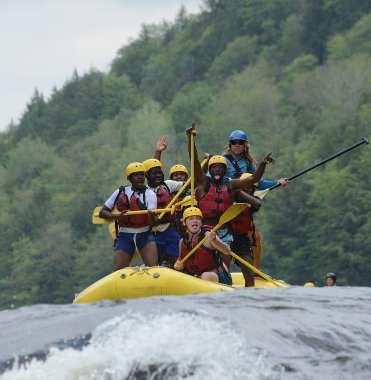 Voyage de rafting en Équateur | Rafting Nouveau Monde