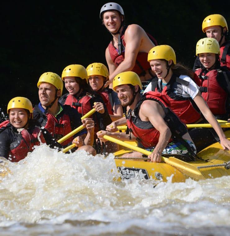 Club Aventure Rafting près de Montréal et Ottawa | Rafting Nouveau Monde